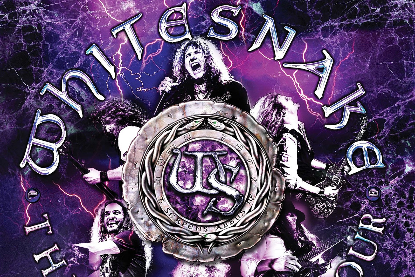 Whitesnake to Release Live 'Purple Tour' CD and DVD