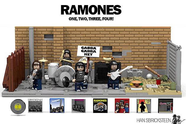 Ramones Lego