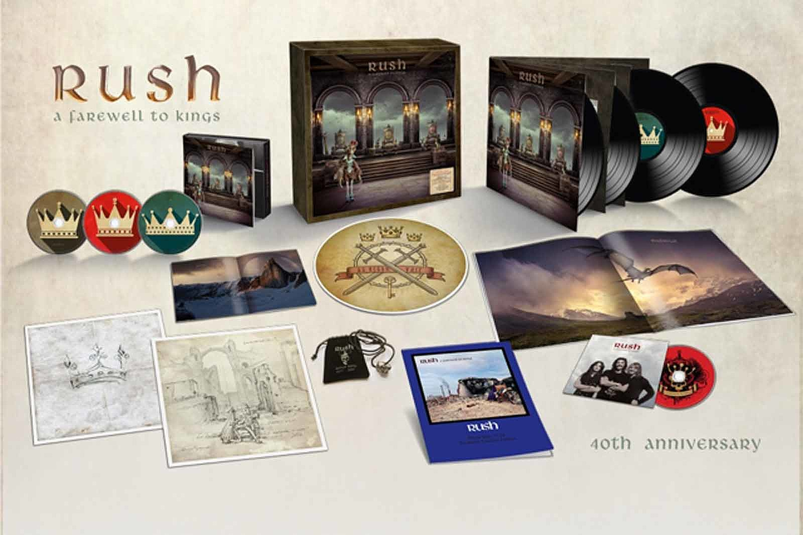 Rush Announce 'Farewell to Kings' 40th Anniversary Set