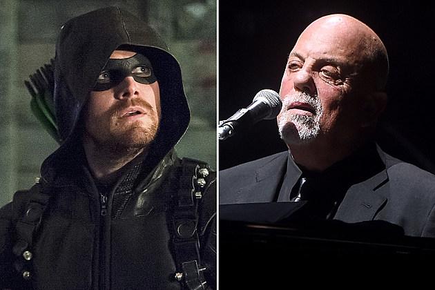 Green Arrow and Billy Joel