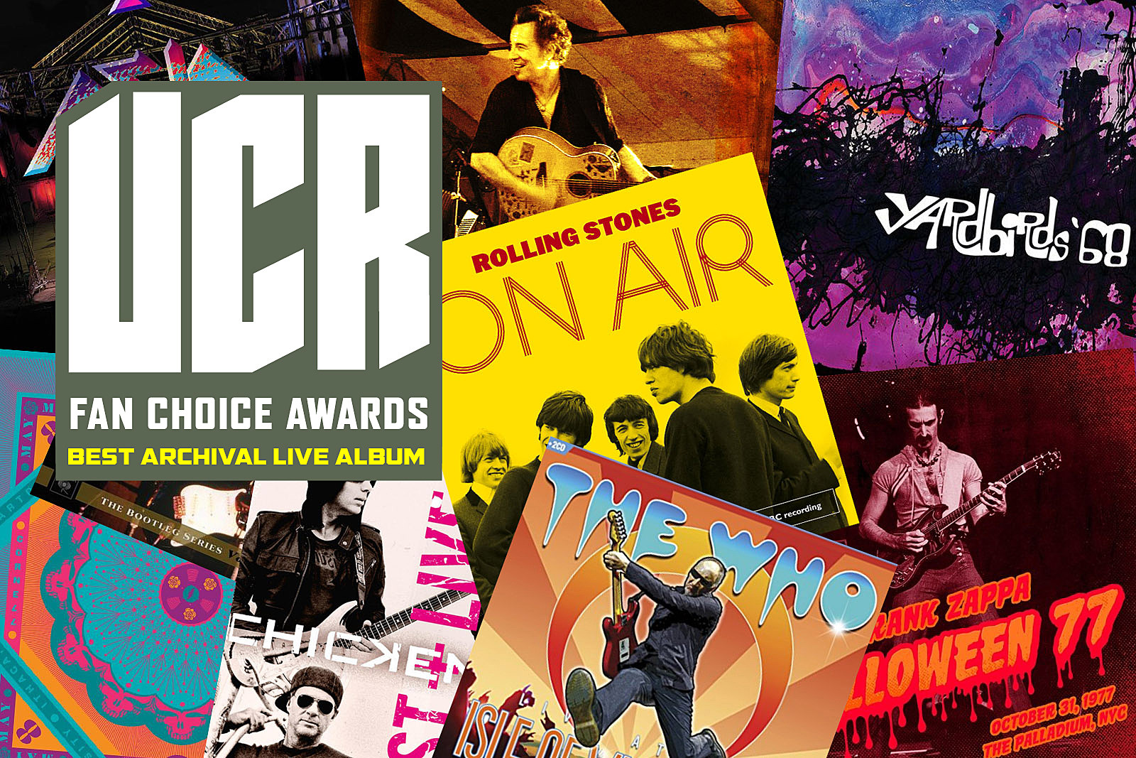 What Was 2017's Best Archival Live Album / Video? UCR Fan Choice Awards