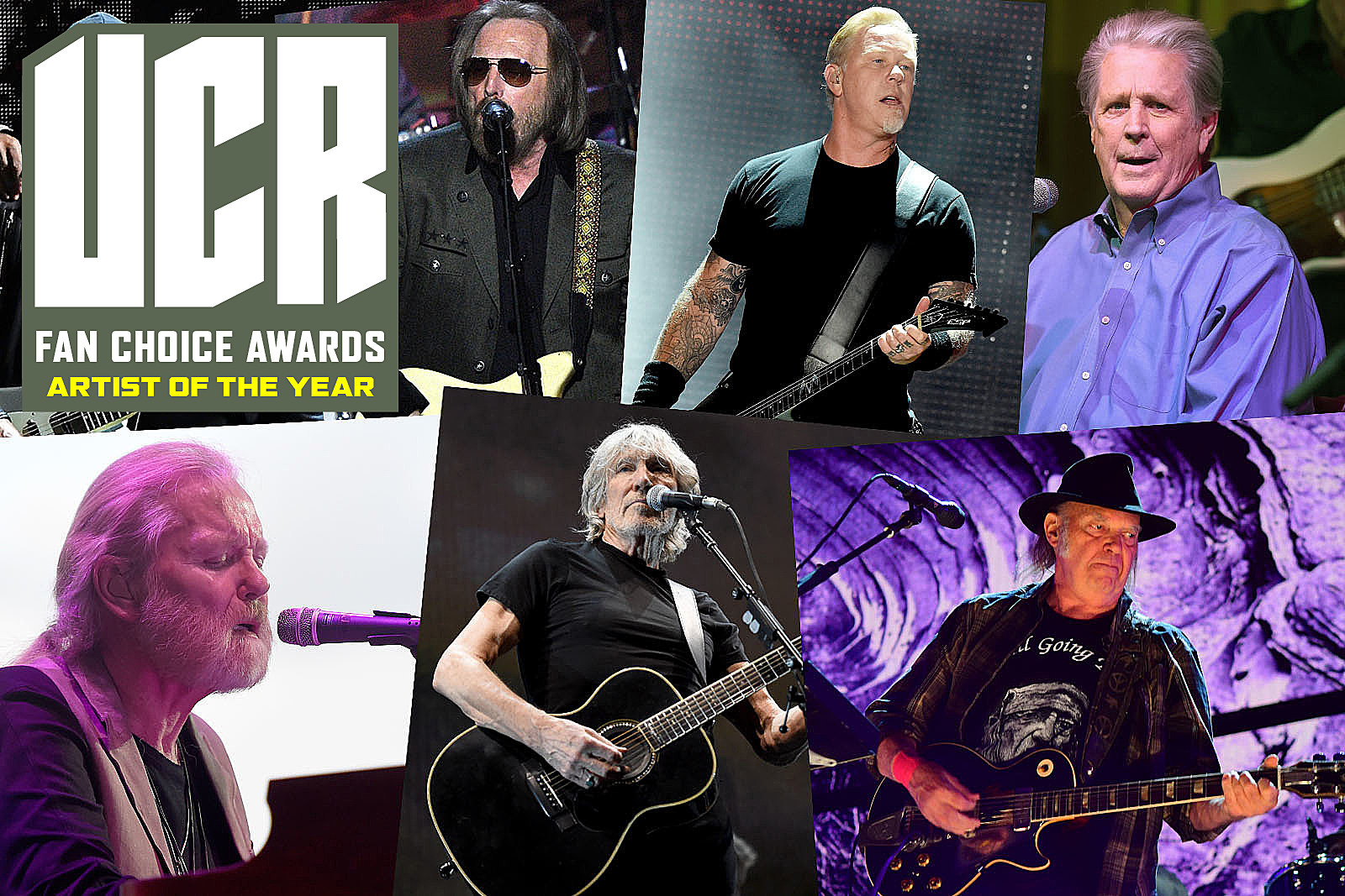Who Is 2017's Artist of the Year? UCR Fan Choice Awards