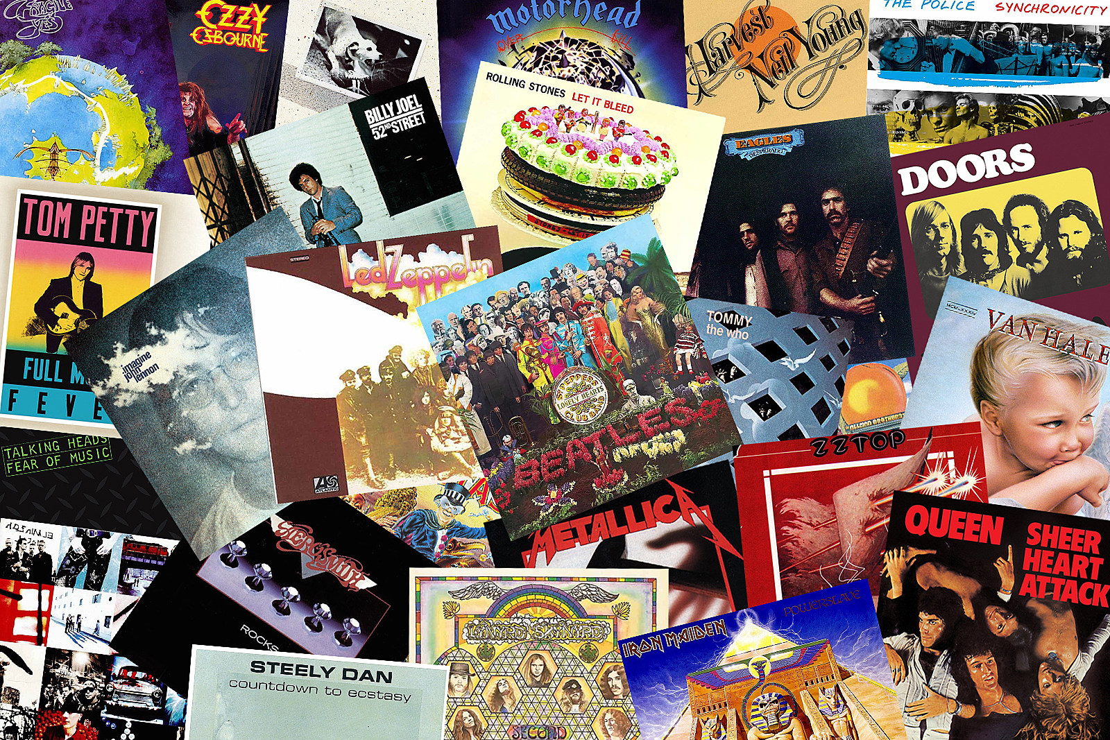 Classic Rock's Second Best Albums