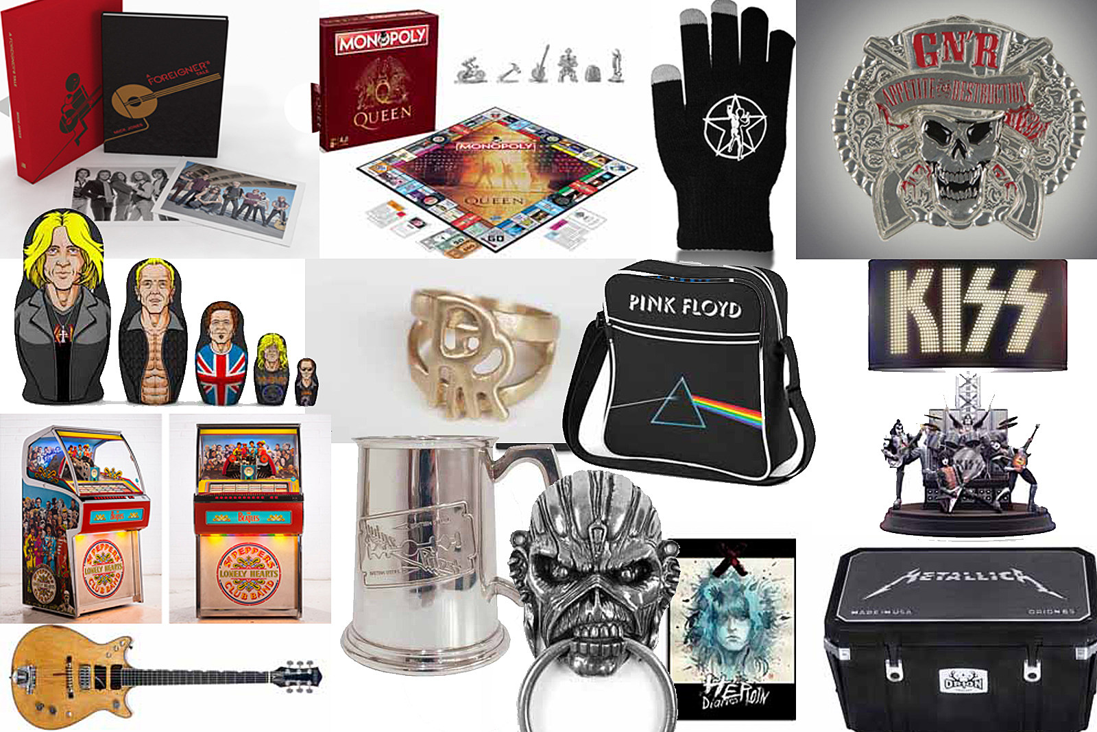 2017 'A to Z' Classic Rock Holiday Gift Guide