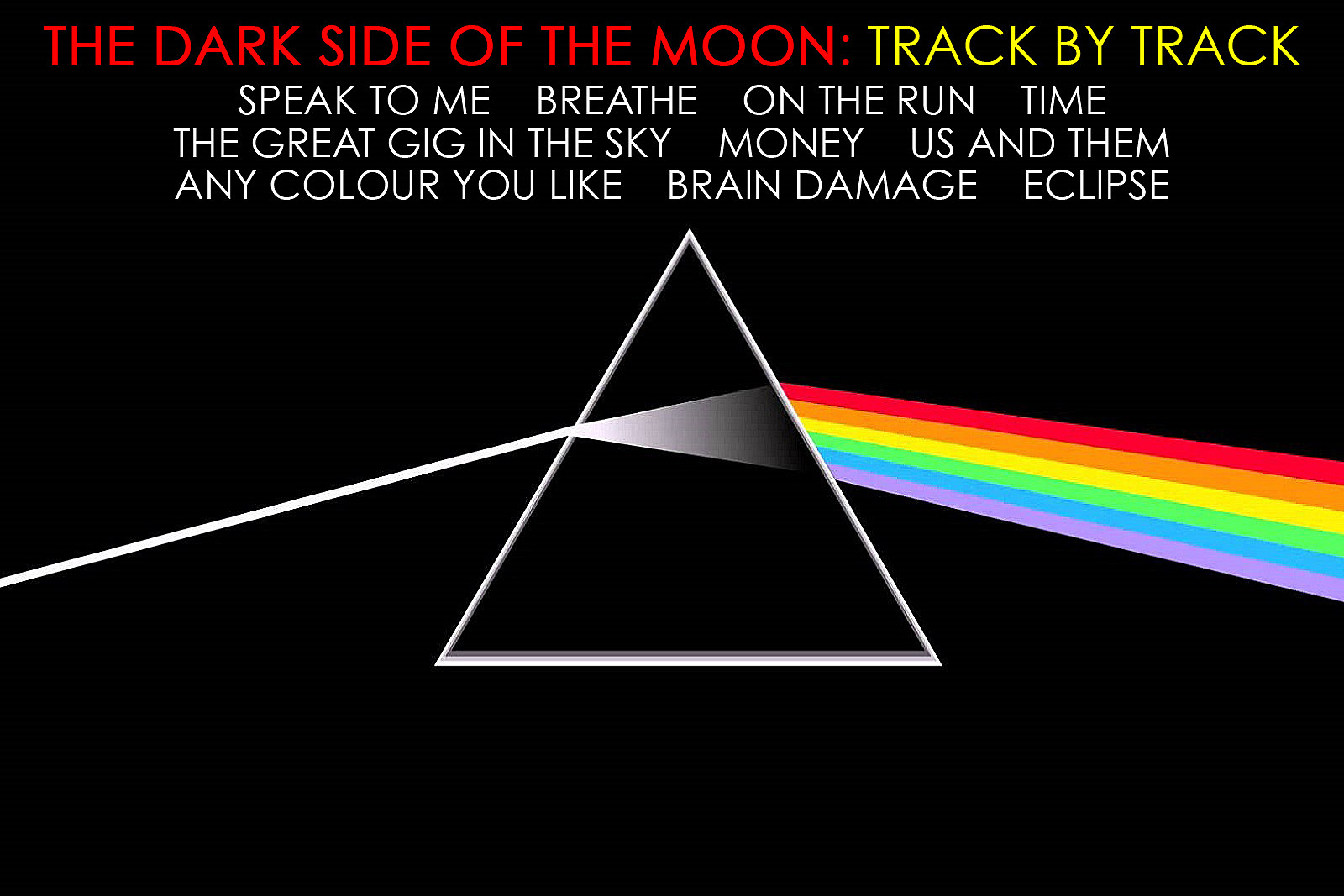 Pink Floyds The Dark Side Of The Moon A Track By Track Guide