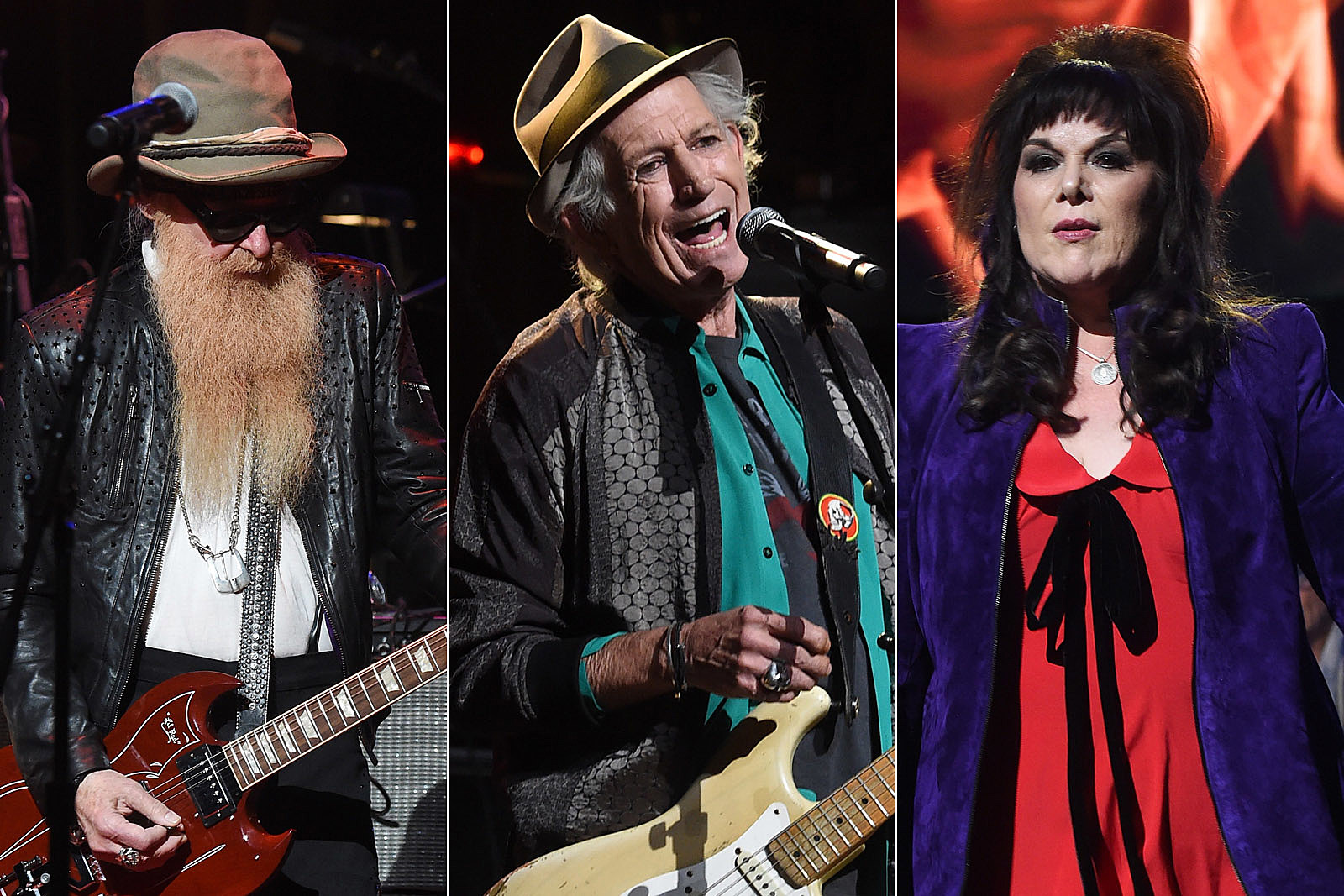 Watch Keith Richards, Ann Wilson, Billy Gibbons + More at Love Rocks NYC! Benefit Concert
