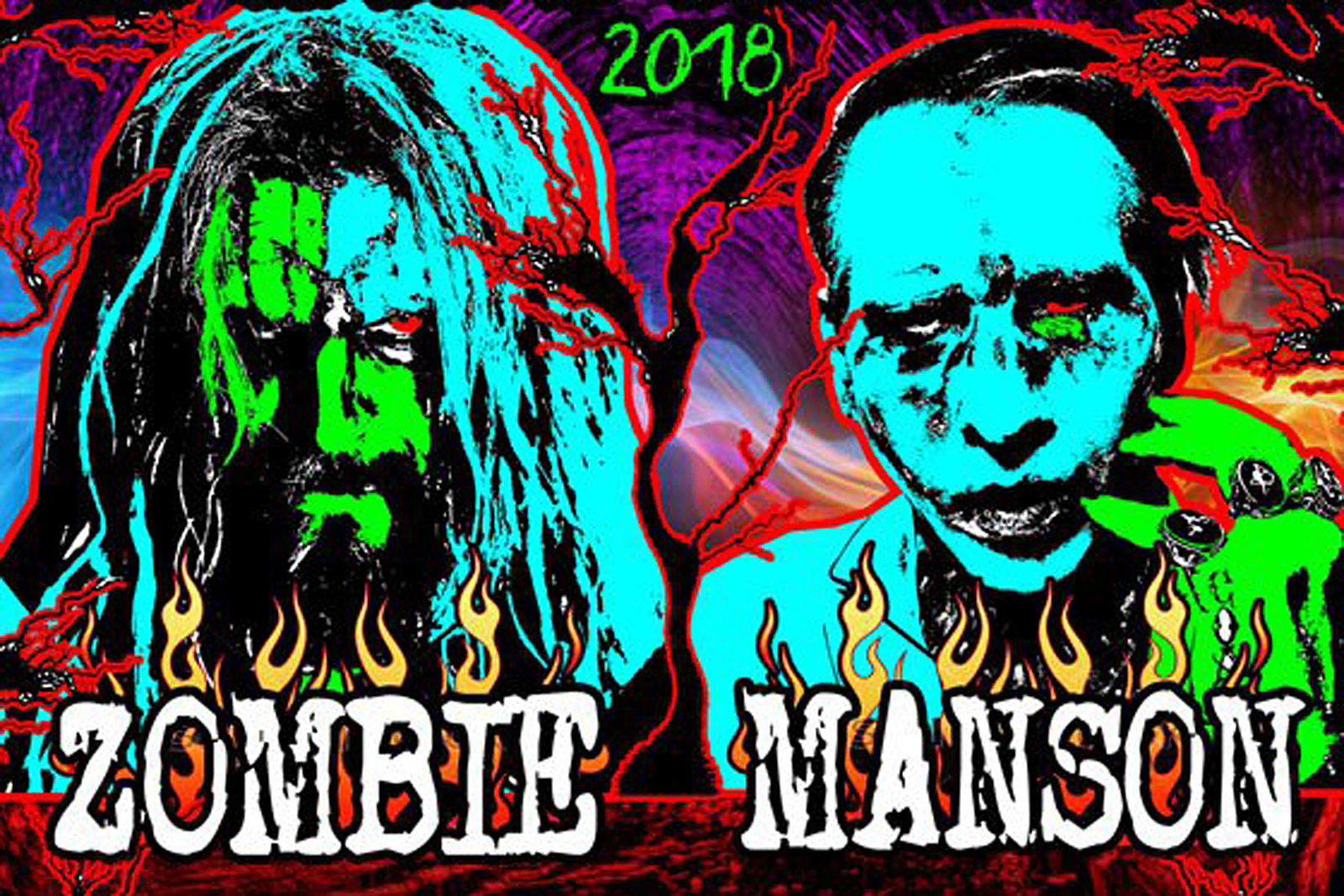 Marilyn manson and rob zombie announce 2018 tour kristyandbryce Choice Image