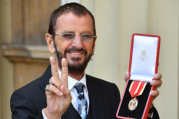 Ringo Starr Has Been Knighted