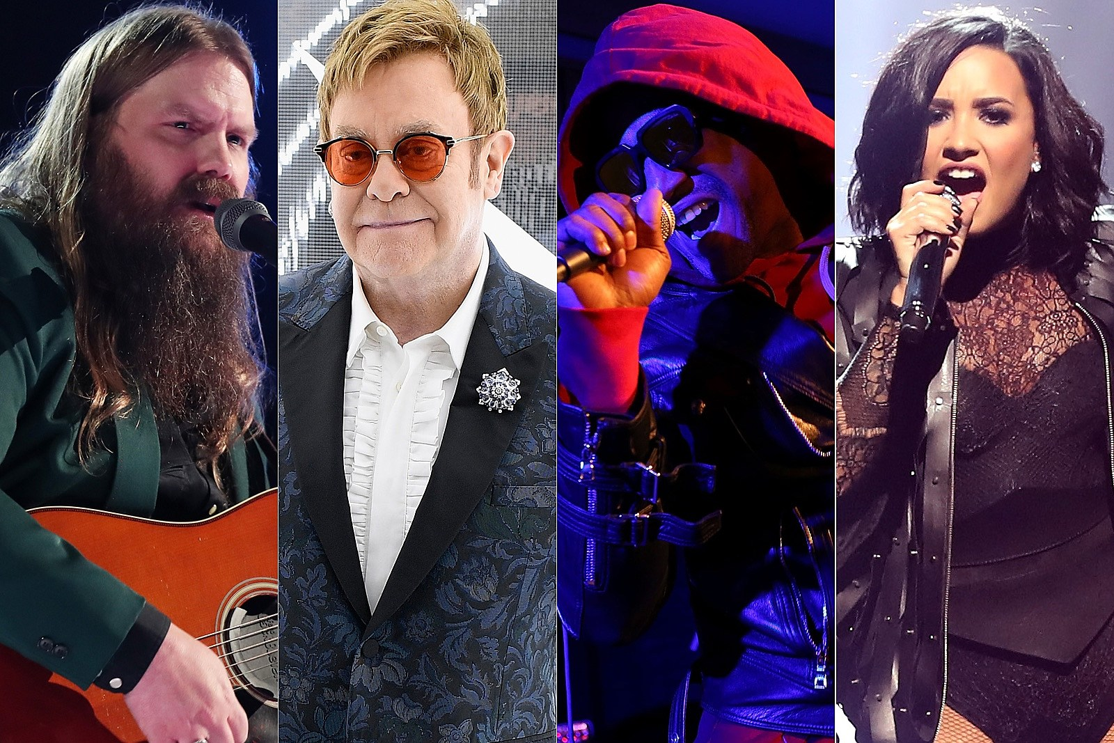 Listen to Elton John Classics Covered by Chris Stapleton, Q-Tip and Demi Lovato