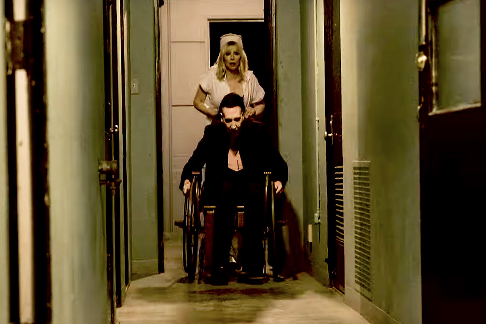 Watch Marilyn Manson and Courtney Love's New Video