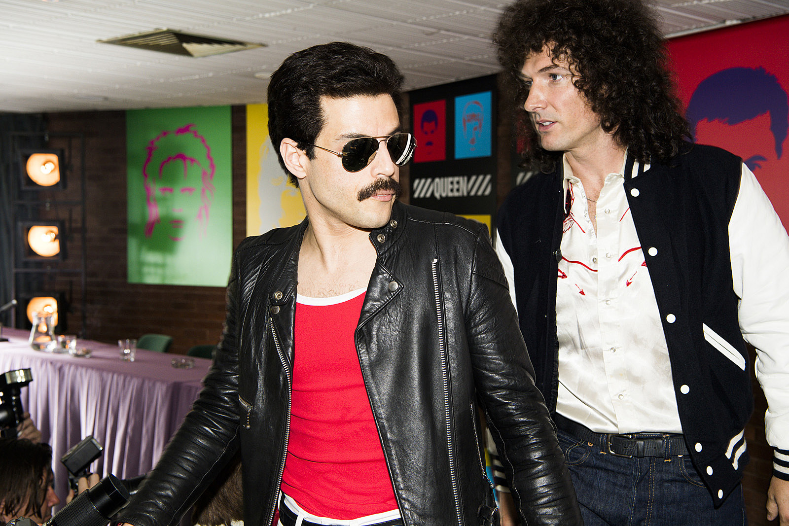 Pictures From Queen 'Bohemian Rhapsody' Film Emerge