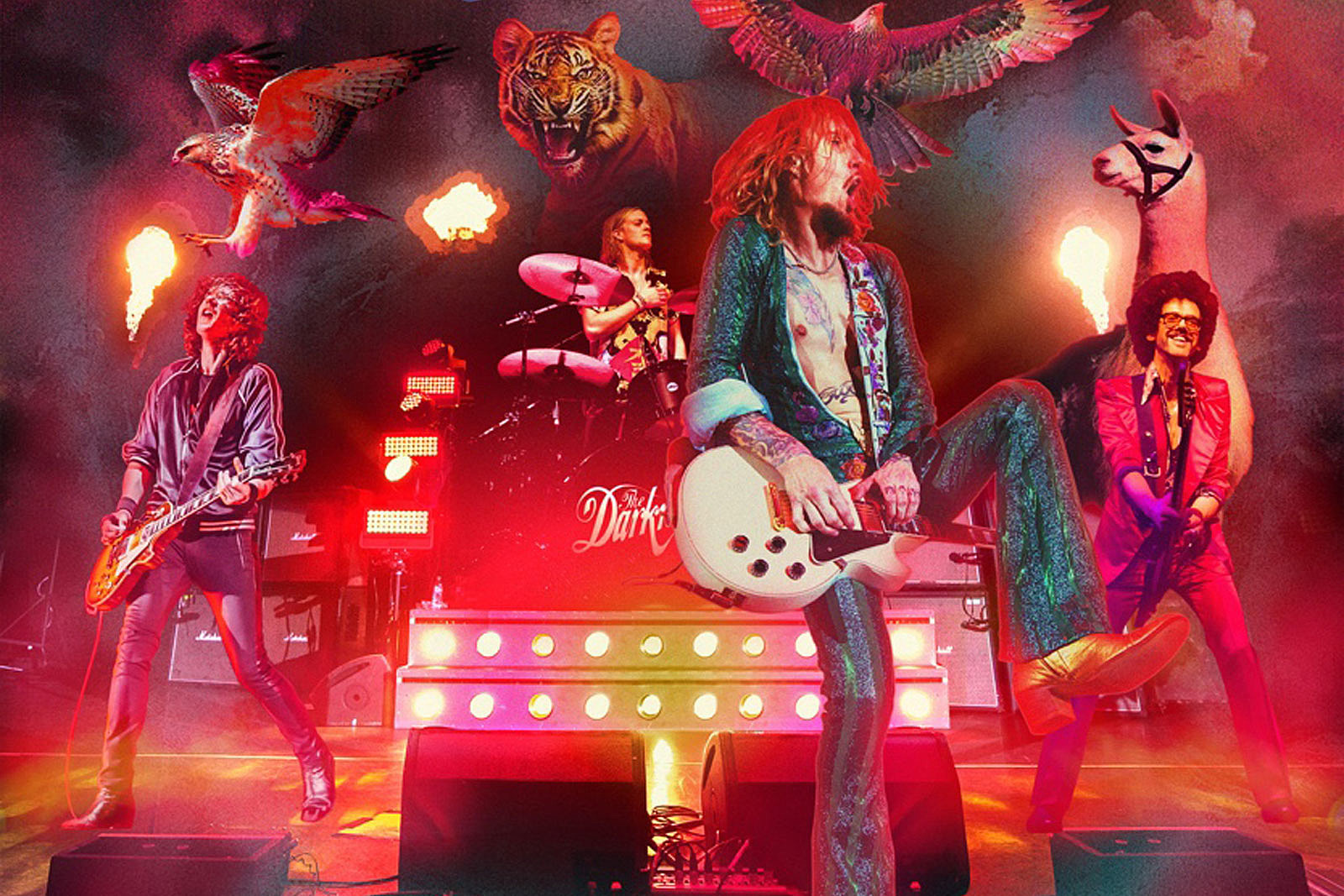 The Darkness Announce 'Live at Hammersmith' Album