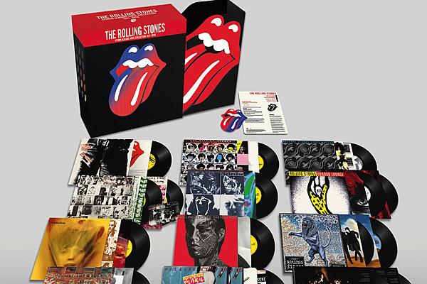 Rolling Stones To Release Studio Albums Vinyl Collection