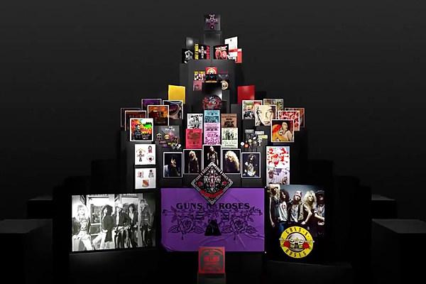Details Of Guns N Roses Appetite Box Apparently Leak