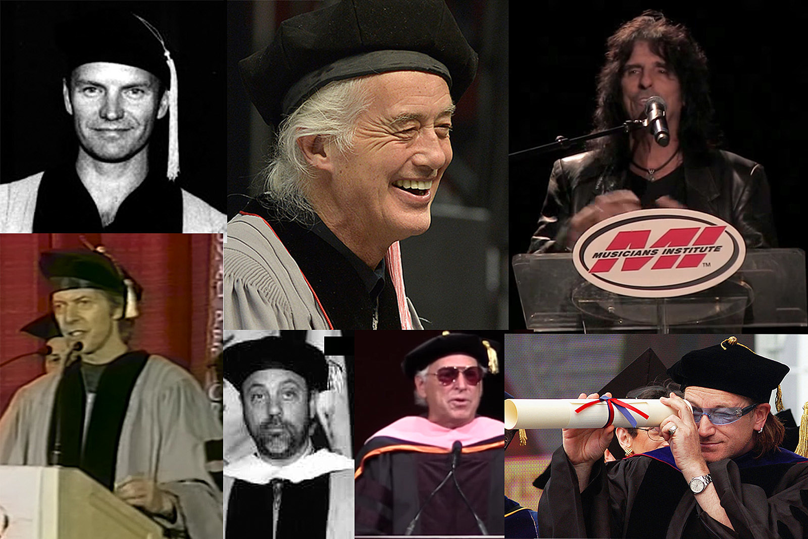 Rock's Funniest Commencement Speeches