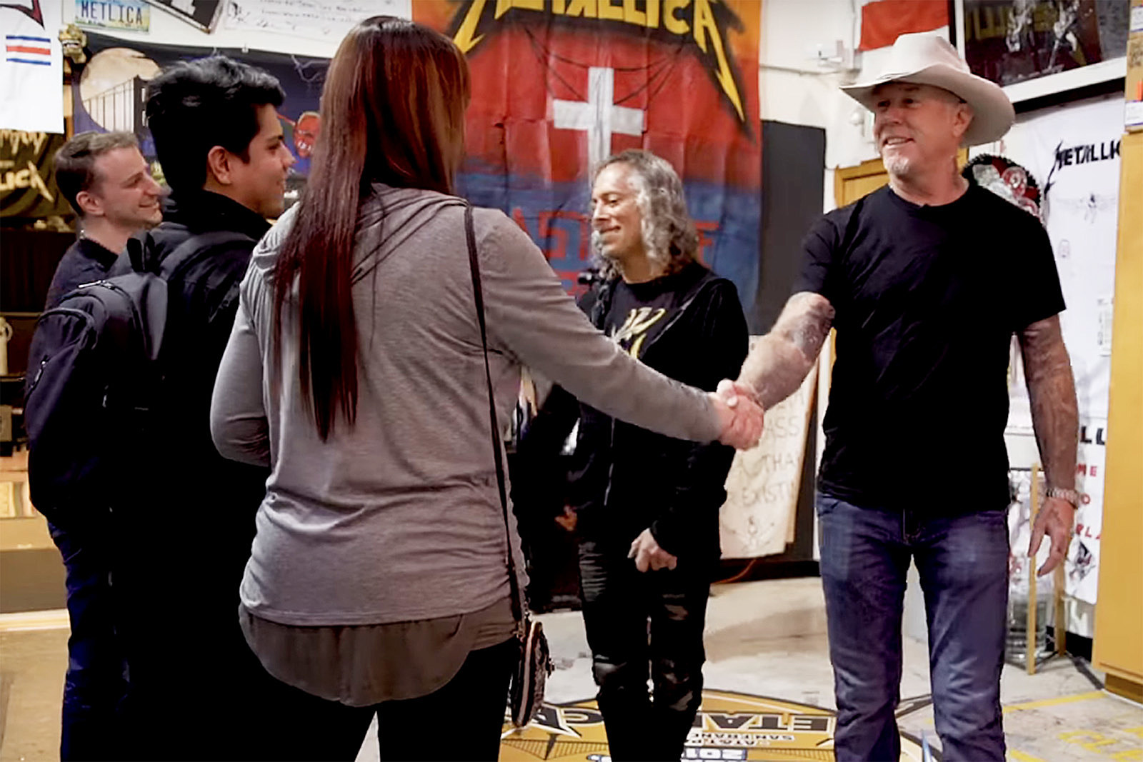Watch Metallica Give Fans a Tour of Their HQ