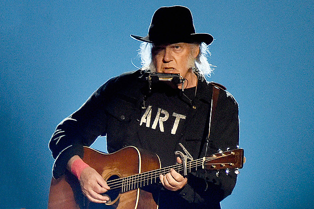 Neil Young To Release Songs For Judy Live Acoustic Album