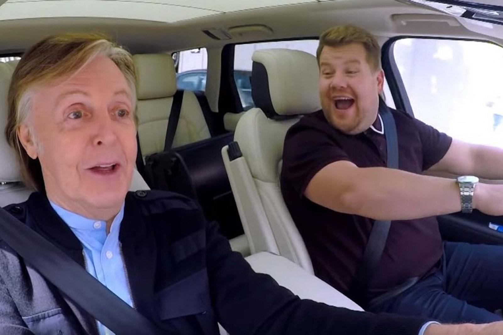 Watch Paul McCartney Return Home on 'Carpool Karaoke'
