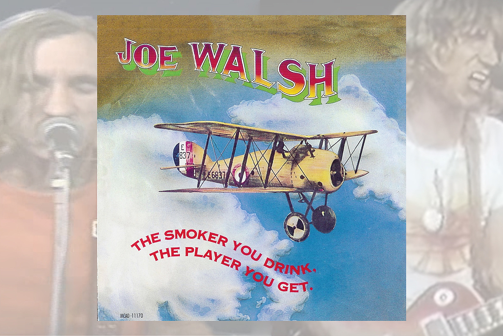 45 Years Ago: Joe Walsh Barnstorms Through 'The Smoker You Drink … '