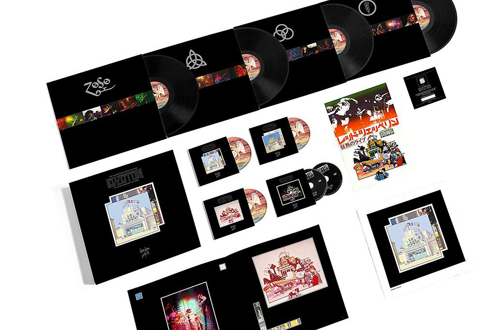 Led Zeppelin Announce Massive 'The Song Remains the Same' Box Set