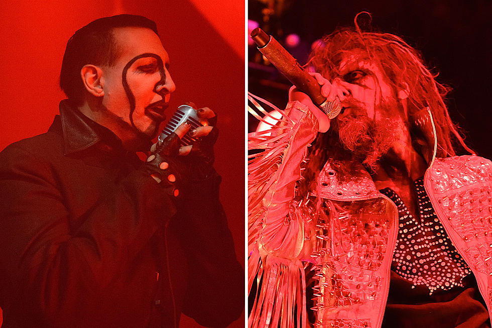 Rob zombie and marilyn manson kick off tour videos set lists m4hsunfo