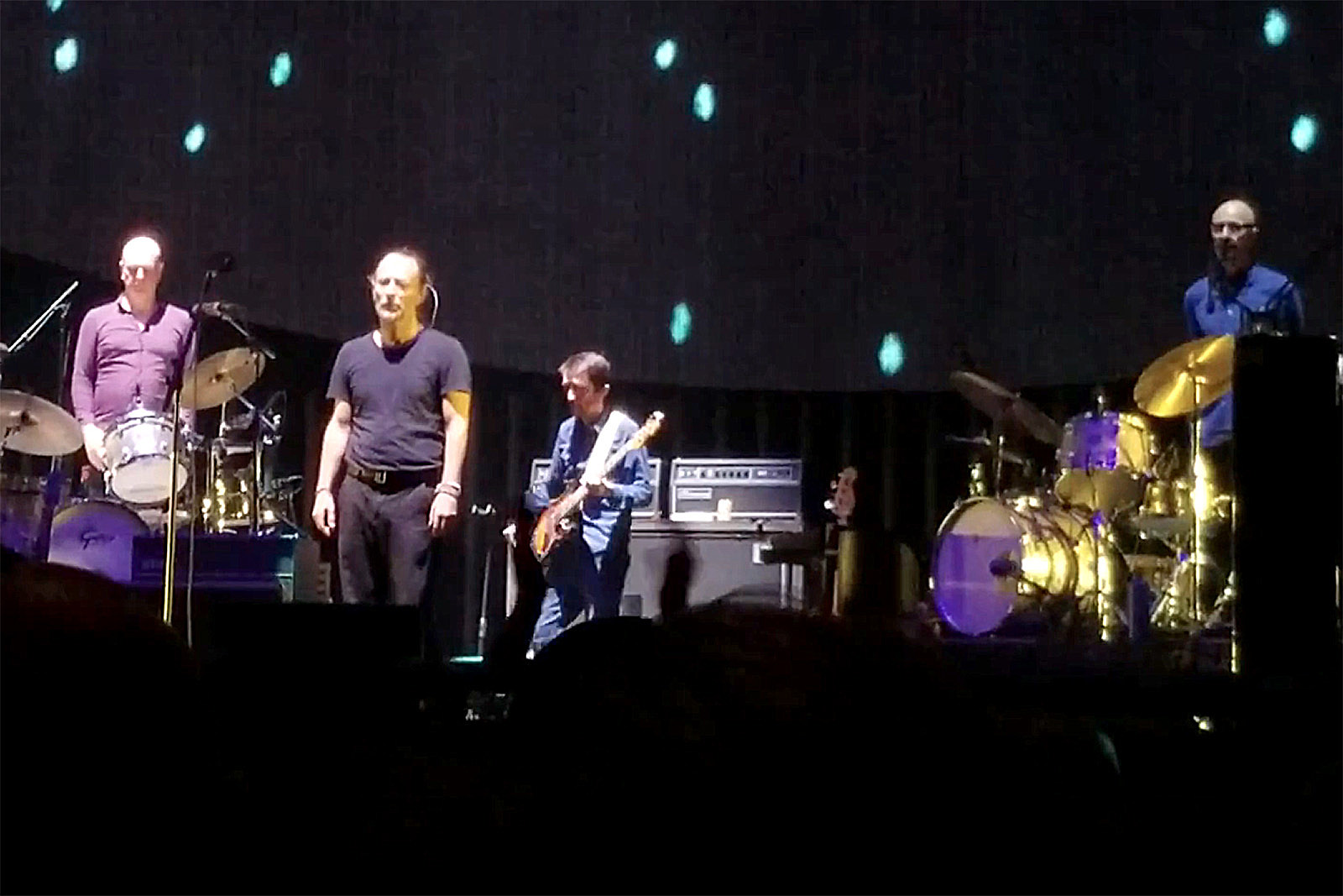 Watch Radiohead Fall Silent Onstage Over 2012 Roadie Death