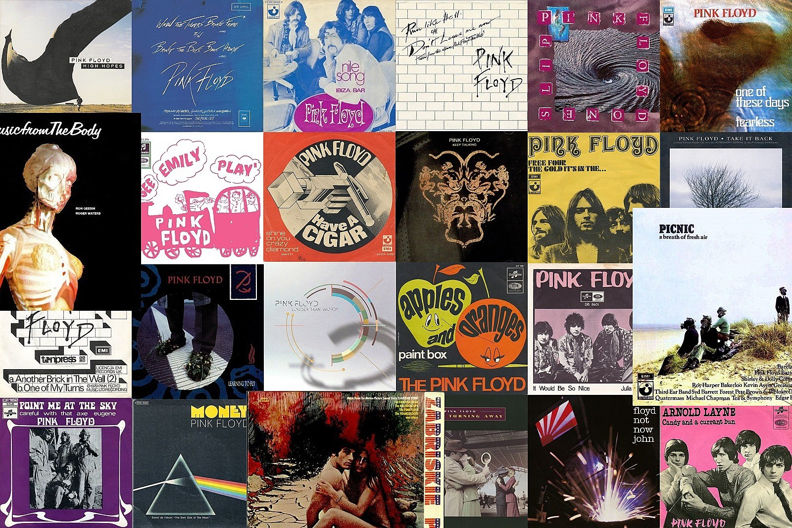 All 167 Pink Floyd Songs Ranked Worst To Best