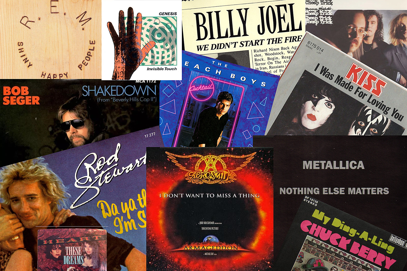 13 most romantic records