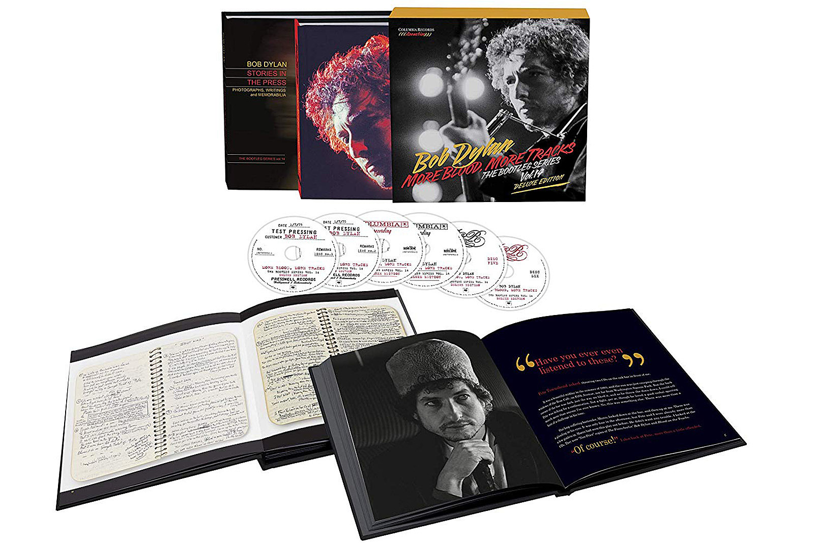 Bob Dylan to Release 'Blood on the Tracks' Box Set