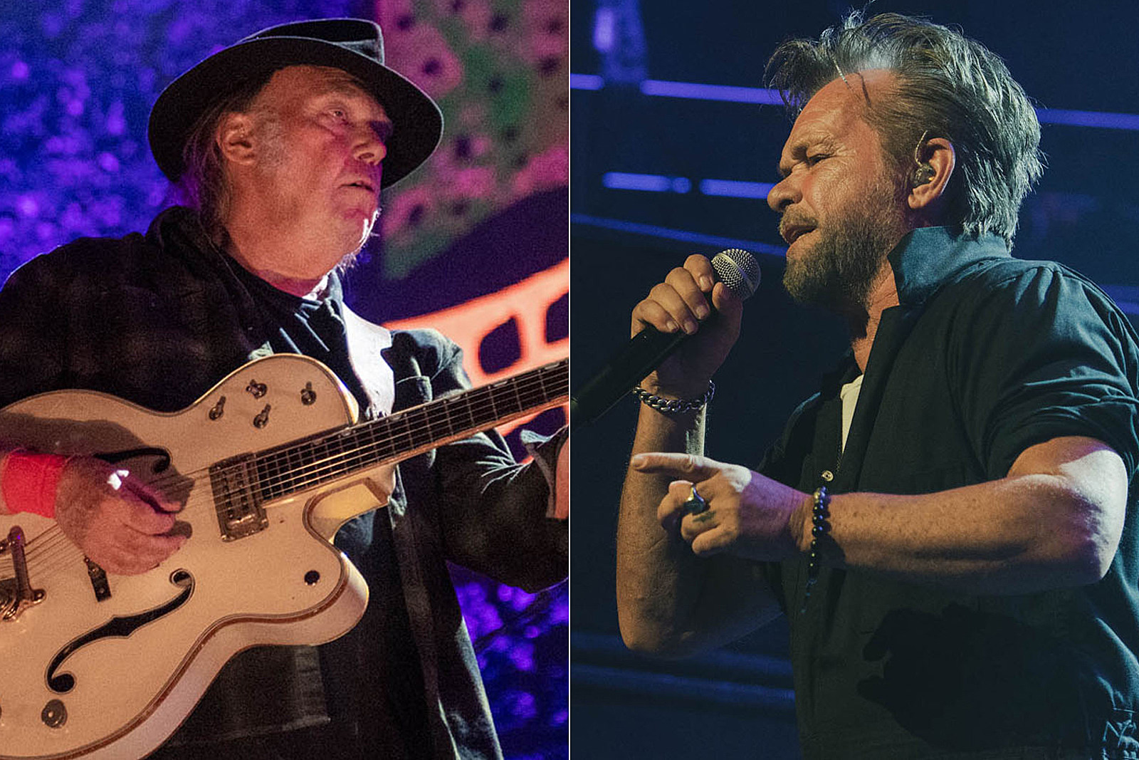 John Mellencamp and Neil Young Slam Trump at Farm Aid: Exclusive Photos