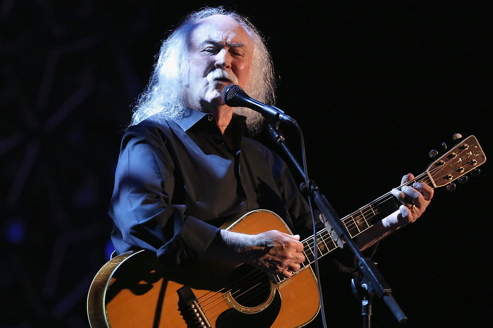 David Crosby Says He's the 'Child' in His Band of Younger Musicians