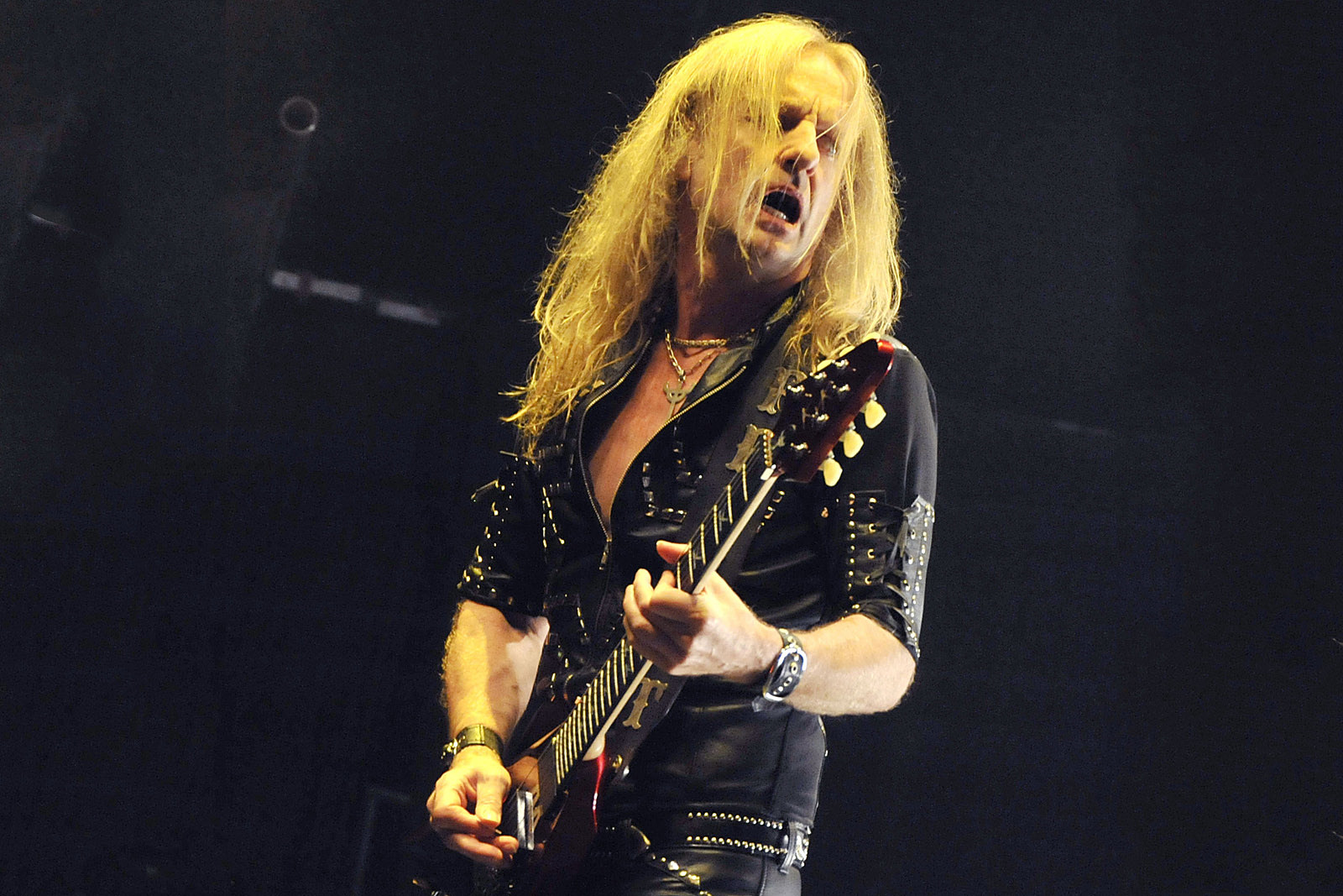 Watch K.K. Downing Return to Stage After 10 Years