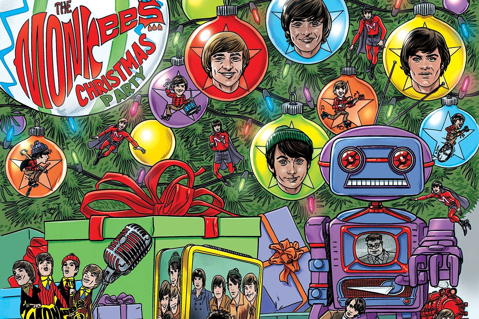 The Monkees' 'Christmas Party' Set for Release
