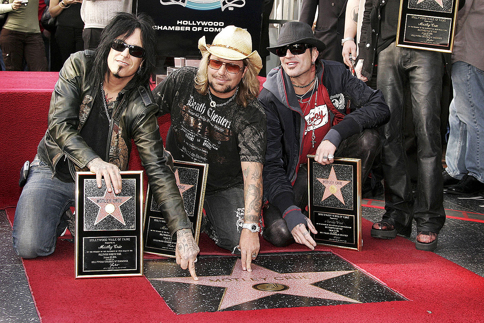 Hollywood Walk of Fame Star Reminds Nikki Sixx to Be Grateful