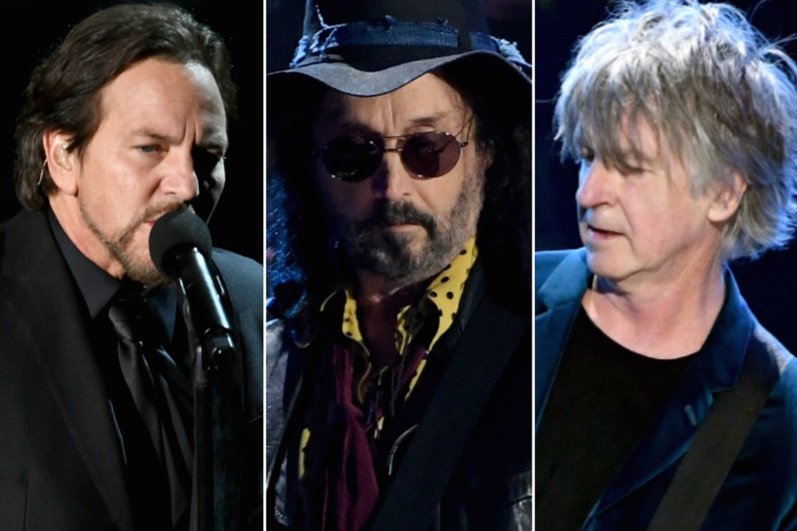 Eddie Vedder and Neil Finn Join Mike Campbell in the Bathroom