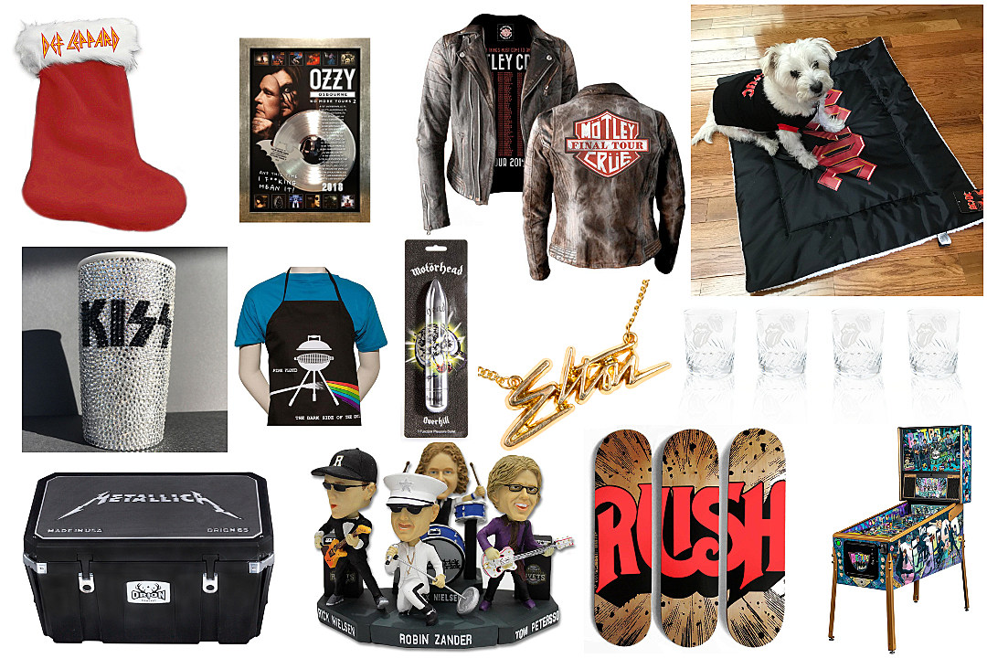 Weird and Expensive Classic Rock Holiday Gift Ideas