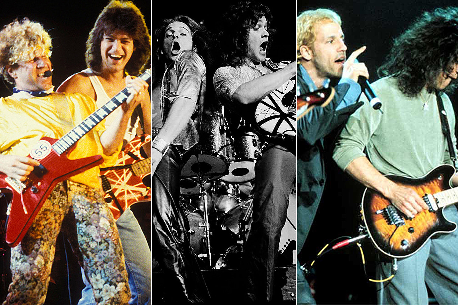Which Van Halen Singer Has Played the Most Shows?