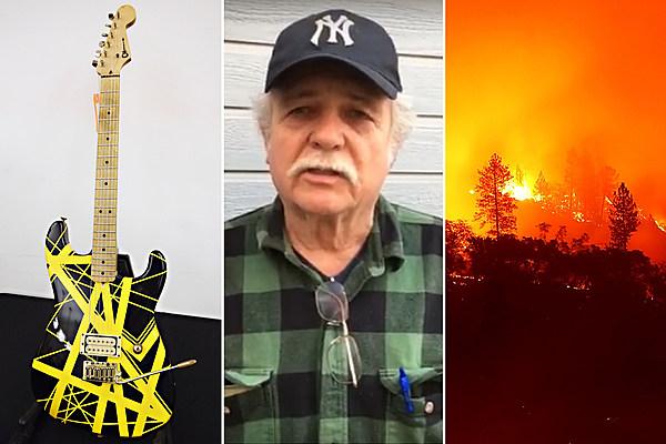 Charvel Guitar Workshop Destroyed in California Fire