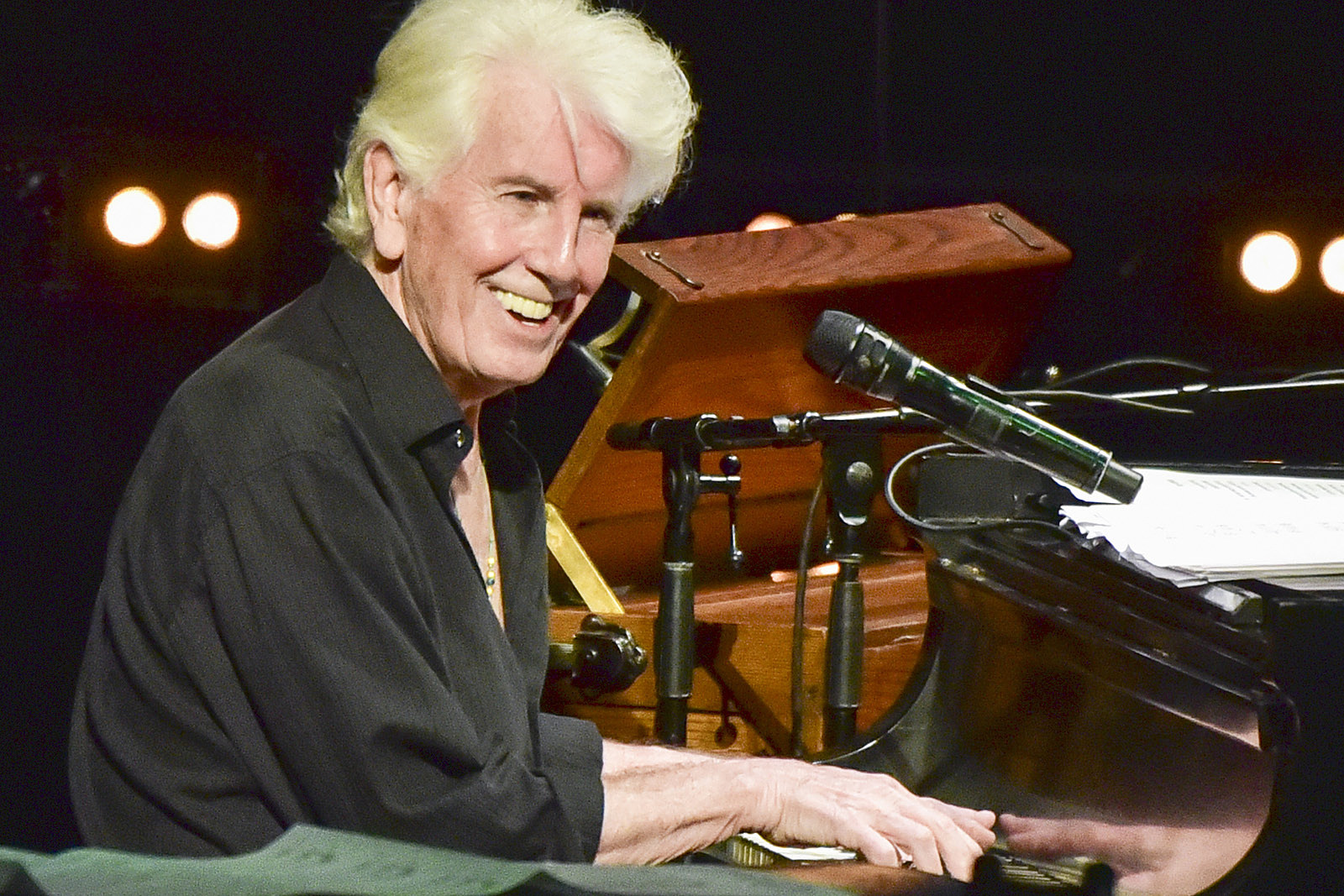 Graham Nash Recalls 'Be-Bop-A-Lula' Clause in Record Contract