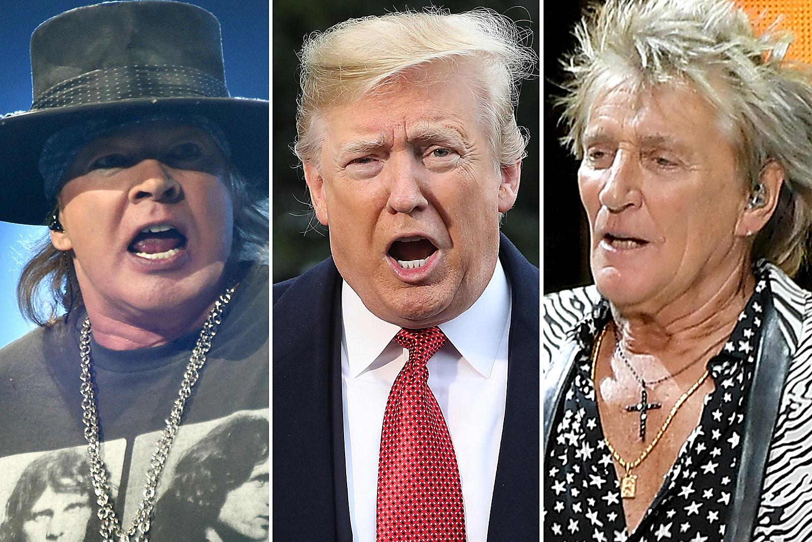 Rockers Slam Donald Trump's California Forest Fires Response