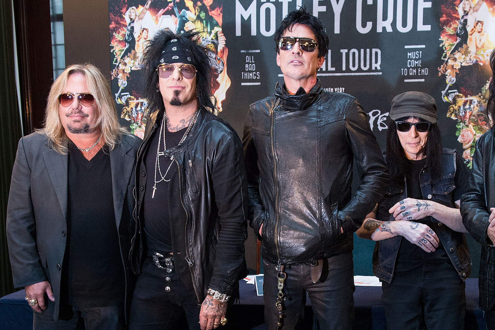 Motley Crue Share Clip of New 'The Dirt' Song