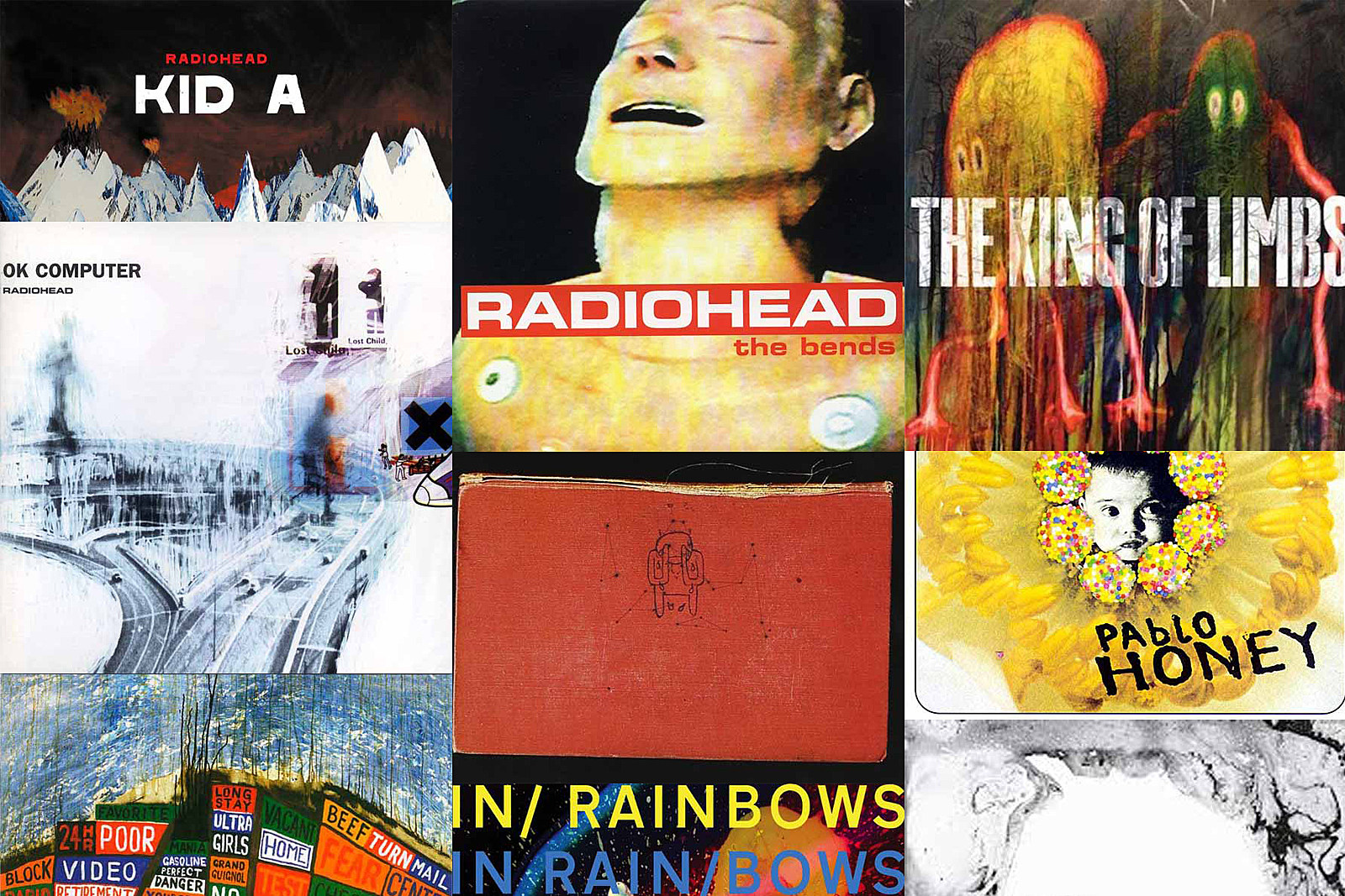 Radiohead Albums Ranked Worst to Best