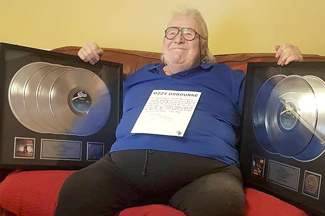 Terminally Ill Lee Kerslake Gets His Ozzy Platinum Discs