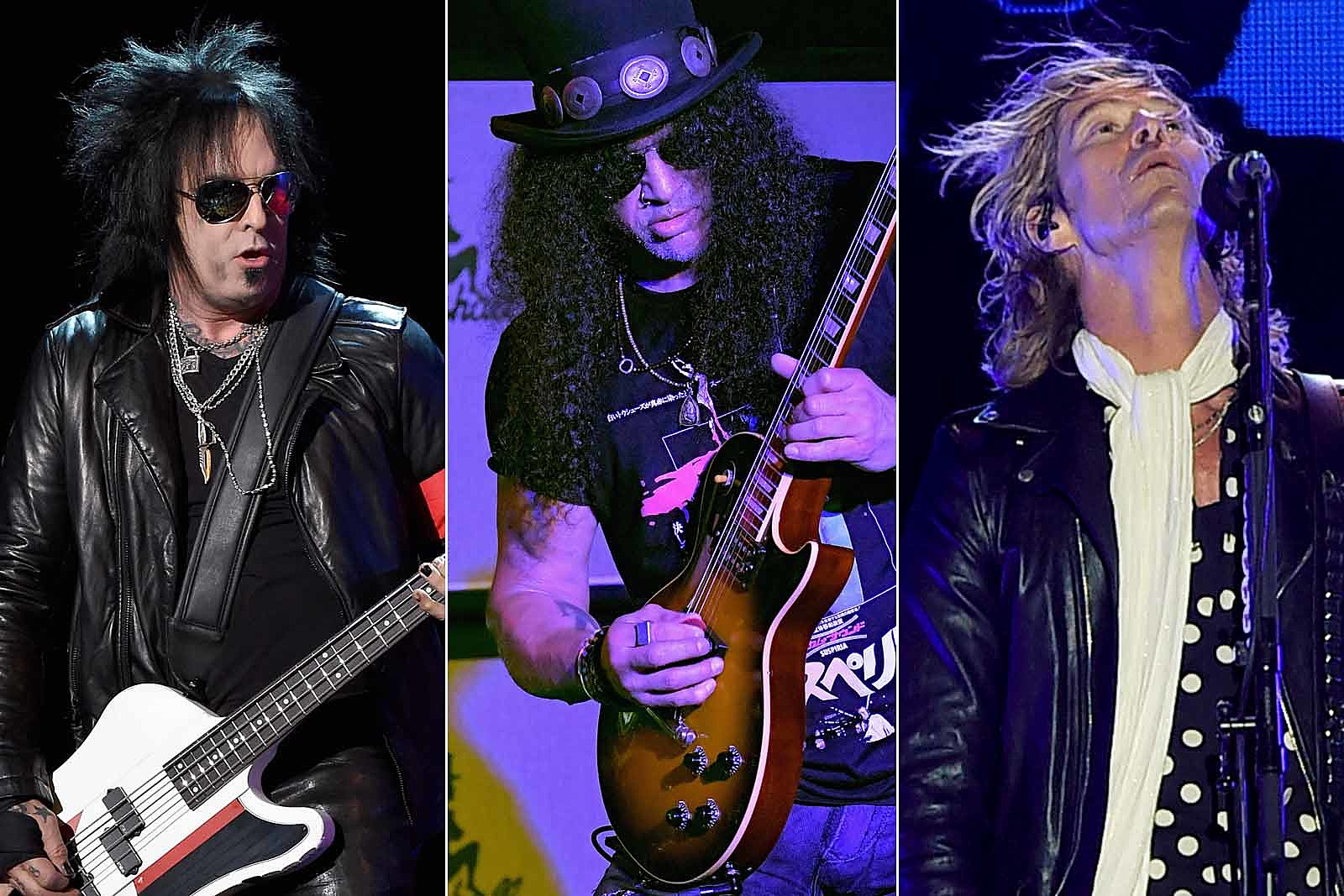 Slash, Duff McKagan and Nikki Sixx Recall Soundtrack to Their First Times