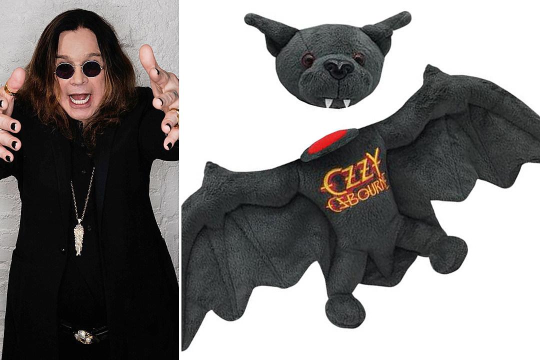Ozzy Osbourne Marks Bat-Biting Anniversary with Plush Toy