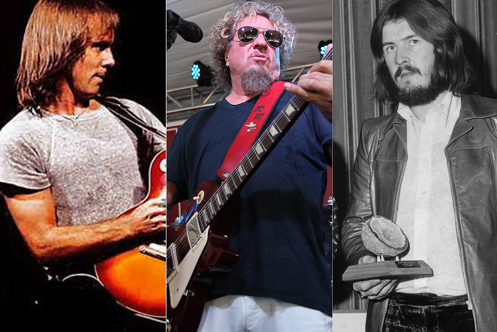 Sammy Hagar's Surprising New Co-Writers: John Bonham, Ronnie Montrose