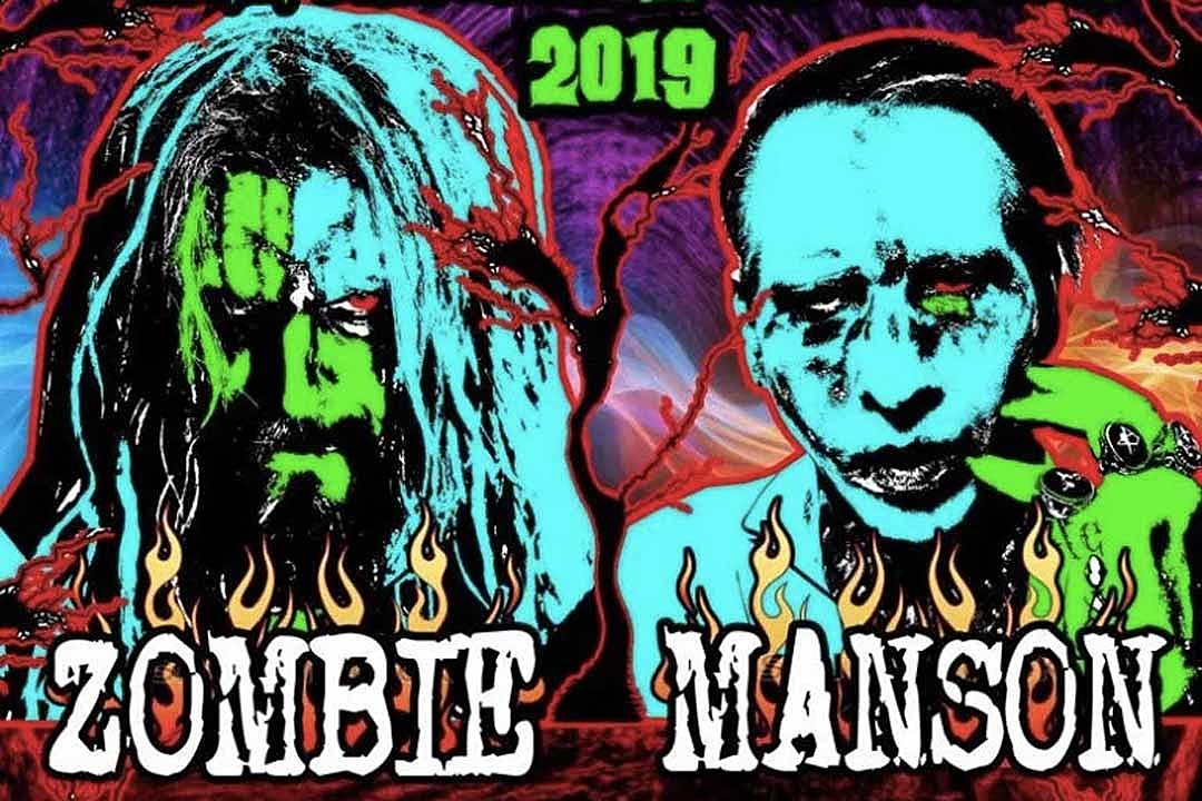 Marilyn Manson and Rob Zombie Announce New 'Twins of Evil' Tour