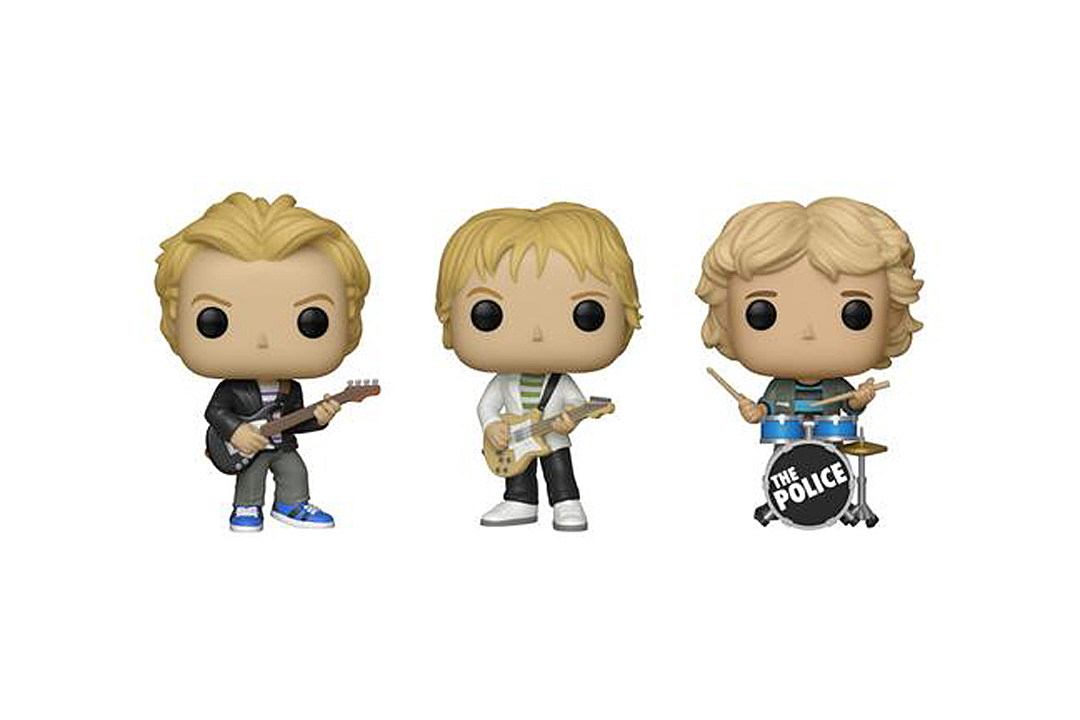 The Police Are Getting Their Own Funko Pop! Figures