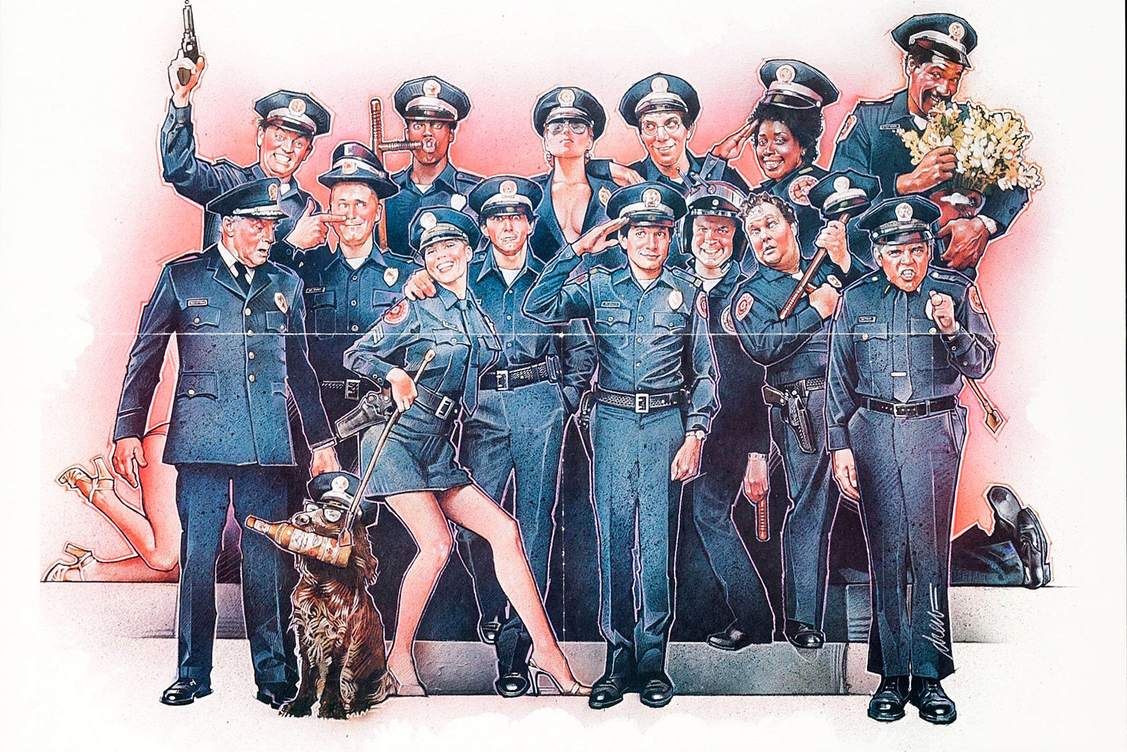 'More Flatulence, More Slobbishness, More T&A': The Birth of 'Police Academy'