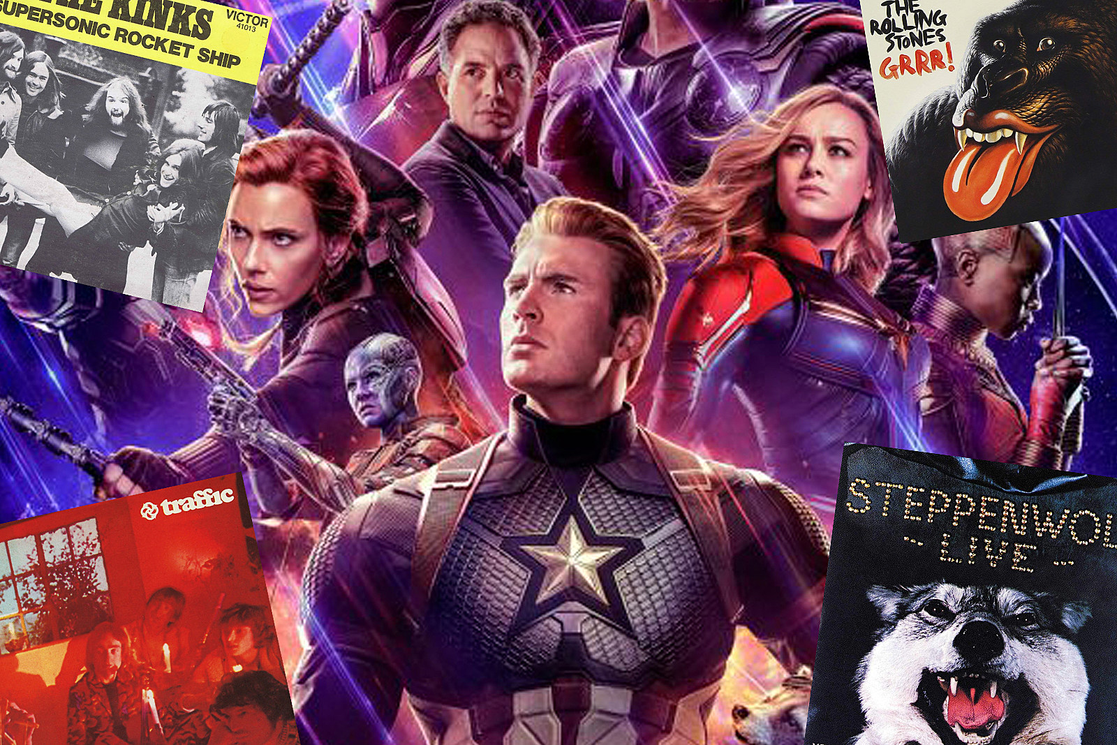 A Guide to the Classic Rock Songs in 'Avengers: Endgame' (NO SPOILERS)